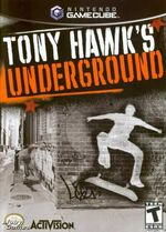 Tony Hawks Underground GC cover