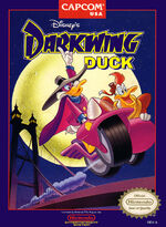 Darkwing Duck NES cover