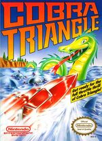 Cobra Triangle NES cover