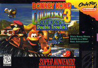 Donkey Kong Country 3 Dixie Kongs Double Trouble SNES cover
