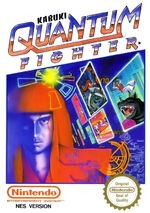 Kabuki Quantum Fighter NES cover