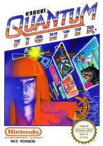 Kabuki Quantum Fighter NES cover