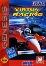 Virtua Racing Genesis box art