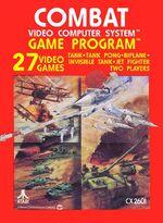 Atari 2600 Combat box art