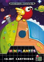 Miniplanets Mega Drive cover