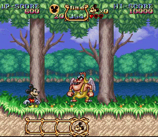 File:The Magical Quest Starring Mickey Mouse SNES screenshot.png