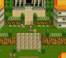 Glory of Heracles 4 SNES screenshot