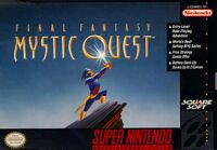 Final Fantasy Mystic Quest SNES cover