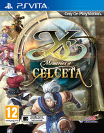 Ys Memories of Celceta PSVita cover