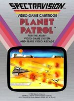 Atari 2600 Planet Patrol box art