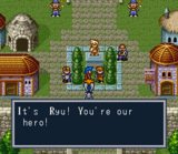 Breath Of Fire SNES screenshot
