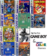 Top ten gb gbc