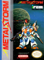Metal Storm NES cover