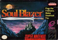 Soul Blazer SNES cover