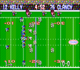 Tecmo Super Bowl SNES screenshot