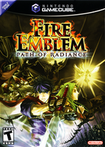 Fire Emblem Path Of Radiance GC cover