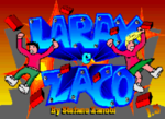 Larax e Zaco DOS title screen