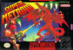 Super Metroid SNES cover