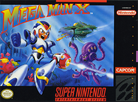Mega Man X SNES cover