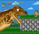 Joe And Mac SNES screenshot