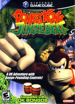 Donkey Kong Jungle Beat GC cover