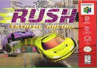 San Francisco Rush Extreme Racing for N64, Front Cover