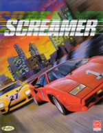 Screamer DOS cover