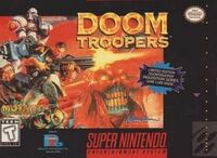 Doom Troopers SNES cover