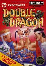Double Dragon NES cover