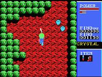 Golvellius MSX screenshot