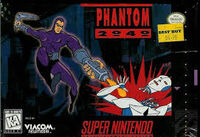 Phantom 2040 SNES cover