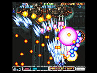 T-20605G 10,,Sega-Saturn-Screenshot-10-Batsugun-JPN