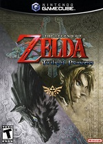 The Legend Of Zelda Twilight Princess GC cover