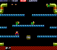 Mario Bros arcade screenshot