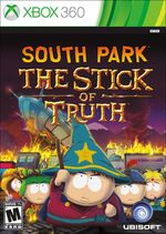 South Park and the Stick of Truth Xbox 360 cover