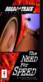 The Need For Speed 3DO cover