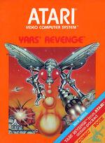 Atari 2600 Yars Revenge box art