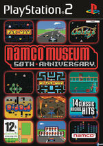 Namco Museum 50th Anniversary PS2 cover