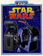 Star Wars arcade flyer