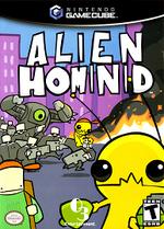 Alien Hominid GC cover