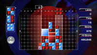 Lumines iOS screenshot