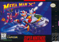 Mega Man X 2 SNES cover