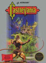Castlevania NES cover