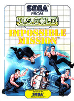 Impossible Mission SMS box art
