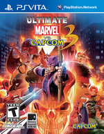 Ultimate Marvel Vs Capcom 3 PSVita cover