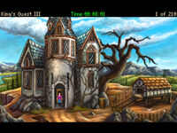 Kings Quest 3 remake AGDI