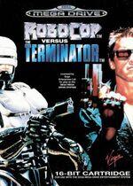 Robocop versus Terminator cover