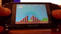NesterJ PSP running Mario