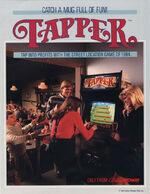 Tapper arcade flyer
