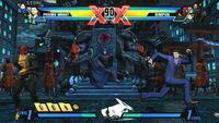 Ultimate Marvel Vs Capcom 3 PSVita screenshot